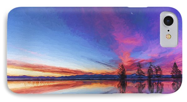 Silver Moon II IPhone Case by Jon Glaser