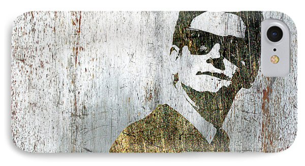 Silver Roy Orbison IPhone Case by Tony Rubino
