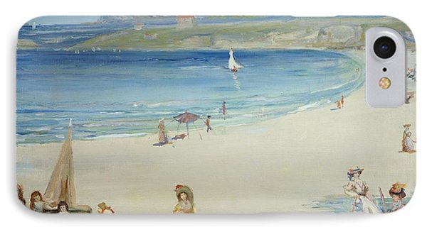 Silver Sands Phone Case by Charles Edward Conder