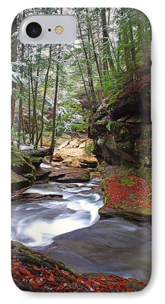 IPhone Case featuring the photograph Silver Singing River by Jaki Miller