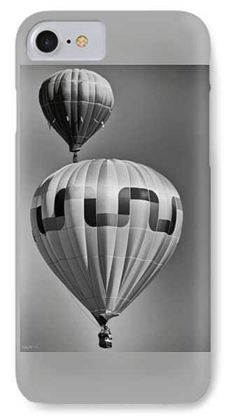 Silver Sky Balloons IPhone Case by Kevin Munro
