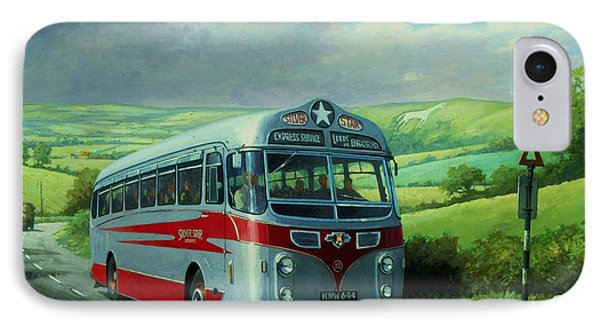 Silver Star Leyland Coach Phone Case by Mike  Jeffries
