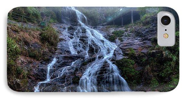 Silver Waterfall - Vietnam IPhone Case by Joana Kruse
