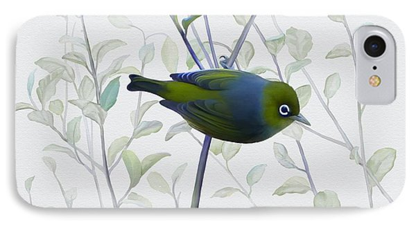 Silvereye IPhone Case by Ivana Westin