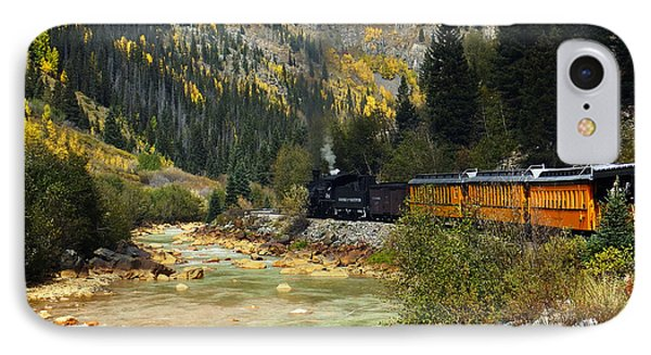 IPhone Case featuring the photograph Silverton Bound by Kurt Van Wagner