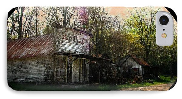 Silverville Ghost Town IPhone Case by Julie Dant