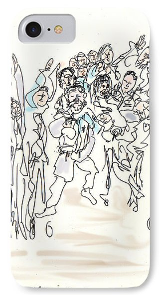 Simchat Torah IPhone Case