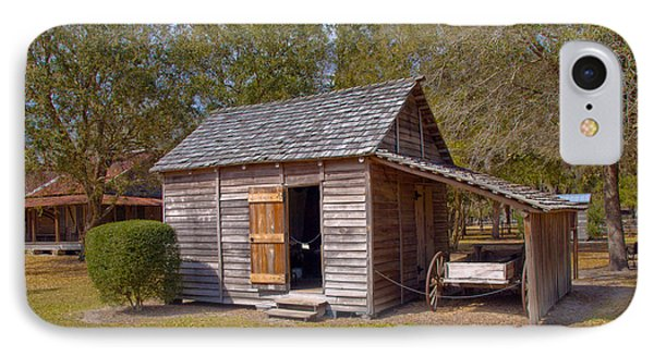 Simmons Cabin Built In 1873 In Orange County Florida Phone Case by Allan  Hughes
