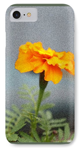 IPhone Case featuring the photograph Simple Bright Flower by Ellen O'Reilly