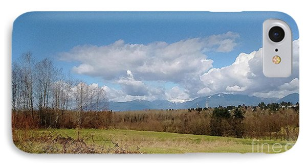 IPhone Case featuring the photograph Simple Landscape by Bill Thomson
