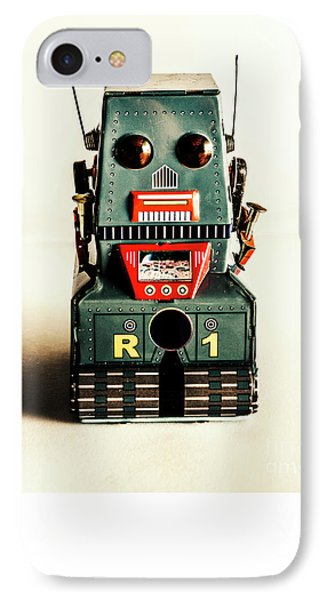 Simple Robot From 1960 IPhone 7 Case