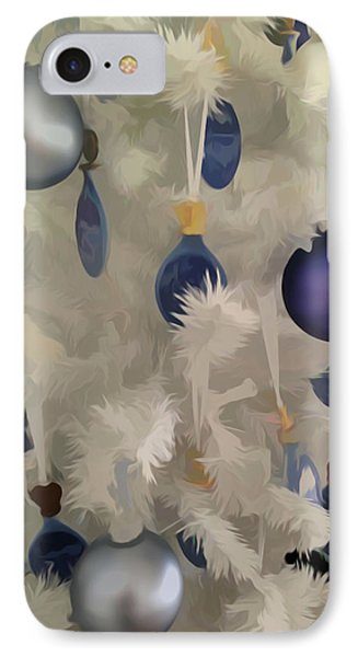 IPhone Case featuring the photograph Simply Soft Christmas Tree Ornaments by Aimee L Maher Photography and Art Visit ALMGallerydotcom