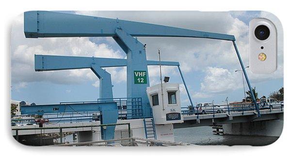 Simpson Bay Bridge St Maarten IPhone Case