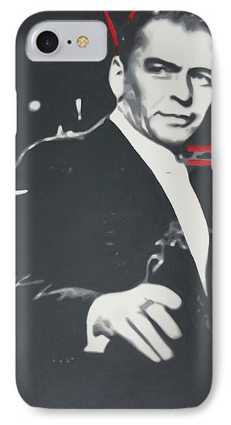 Sinatra 2013 IPhone Case by Luis Ludzska
