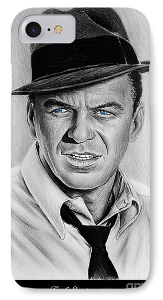Sinatra Blue Eyes Edition IPhone Case by Andrew Read