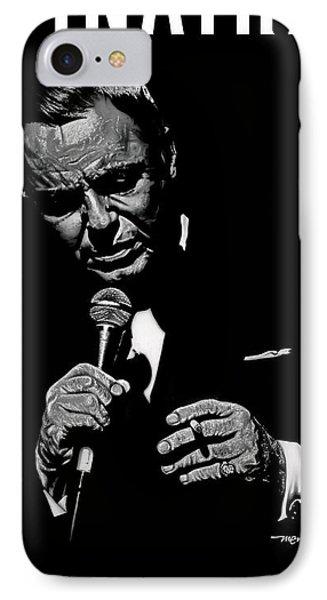 Sinatra W Sig IPhone Case