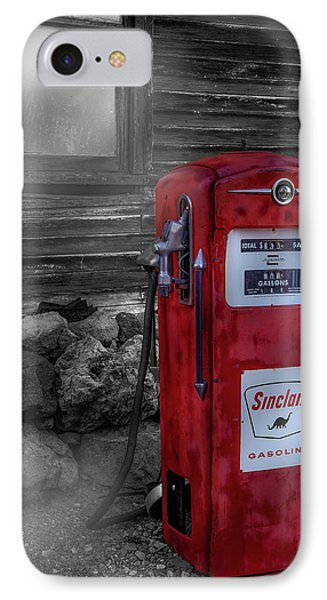 IPhone Case featuring the photograph Sinclair Gas Pump Sc by Susan Candelario