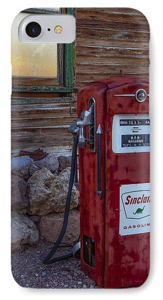 Sinclair Gas Pump IPhone Case by Susan Candelario