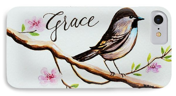 Garden iPhone 7 Case - Sing Grace by Elizabeth Robinette Tyndall