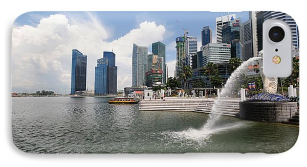Singapore IPhone Case by Charuhas Images