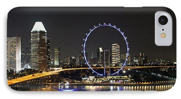 Singapore Eye IPhone Case by Diane Height