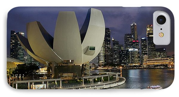 Singapore Harbor IPhone Case by Diane Height