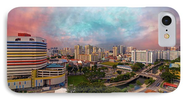 Singapore Rochor Commercial And Residential Mixed Area Phone Case by David Gn