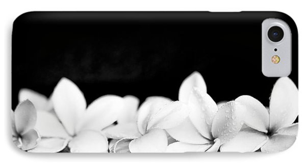 Singapore White Plumeria Flowers The Fragrance Of Hawaii IPhone Case by Sharon Mau