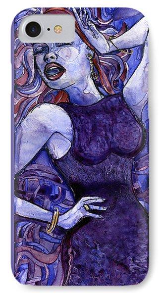 Singing Lady- Jazz IPhone Case