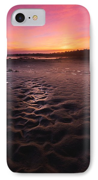 Singing Sands Sunset IPhone Case by Cale Best