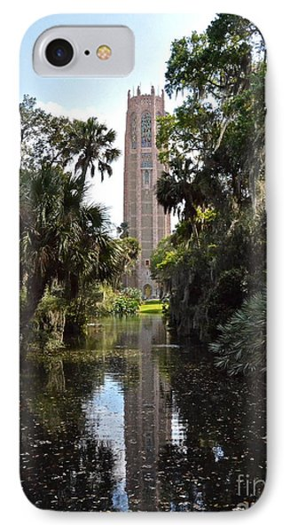 Singing Tower Reflection IPhone Case by Carol  Bradley