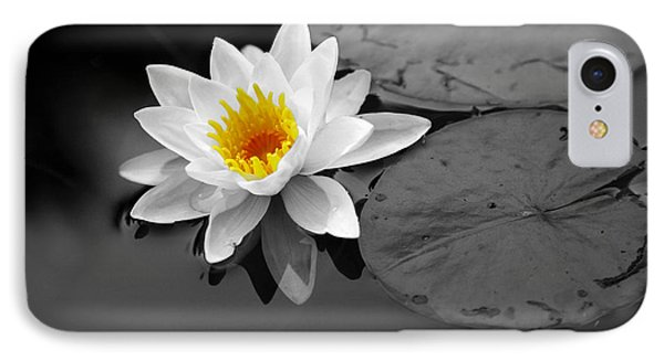IPhone Case featuring the photograph Single Lily by Shari Jardina