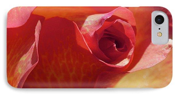 Single Rose Phone Case by Gwyn Newcombe
