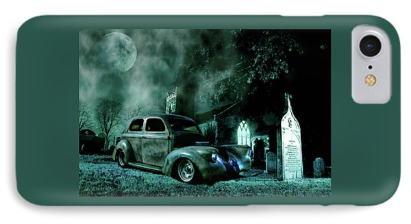 IPhone Case featuring the photograph Sinister by Steven Agius