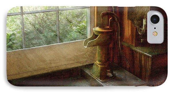 Sink - Water Pump Phone Case by Mike Savad