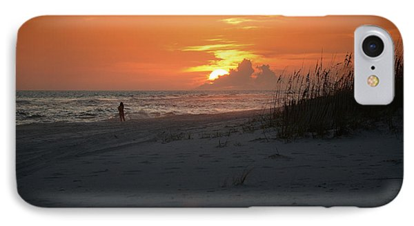 Sinking Into The Horizon IPhone Case
