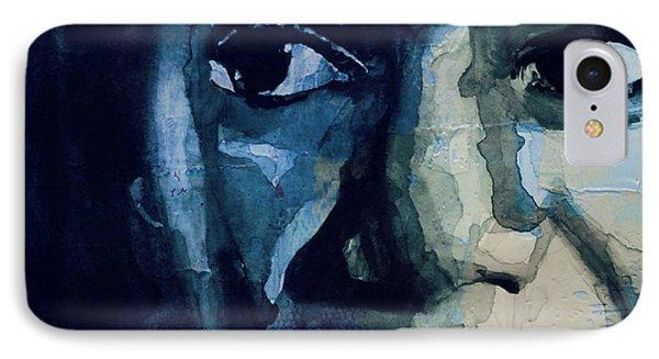 Rhythm And Blues iPhone 7 Case - Sinnerman - Nina Simone by Paul Lovering
