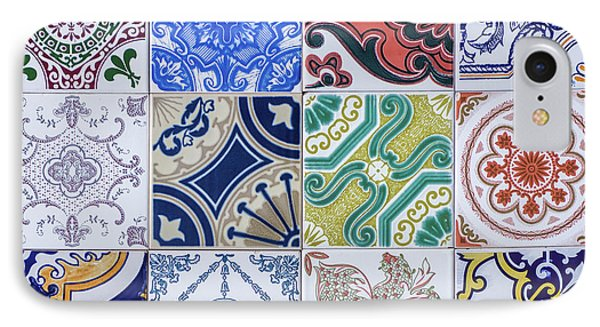 IPhone Case featuring the photograph Sintra Tiles by Carlos Caetano