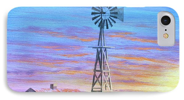 Sioux County Sunrise Phone Case by J W Kelly