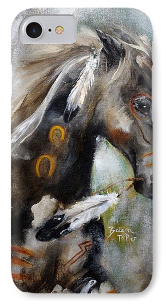 Sioux War Pony IPhone Case by Barbie Batson