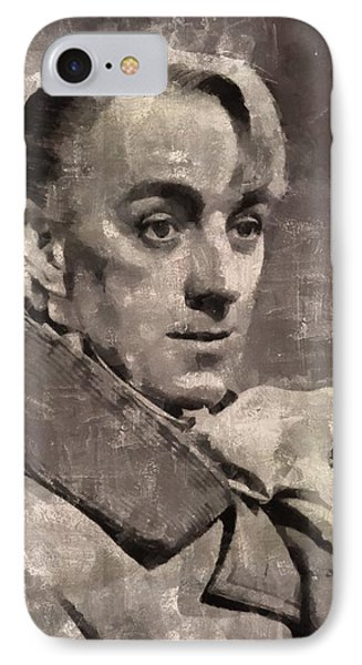 Sir Alec Guiness, Actor IPhone Case by Mary Bassett