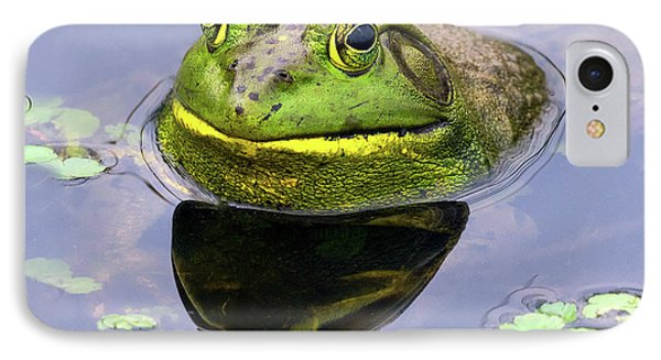 Sir Bull Frog IPhone Case