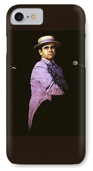 Sir Elton John 3 Phone Case by Dragan Kudjerski