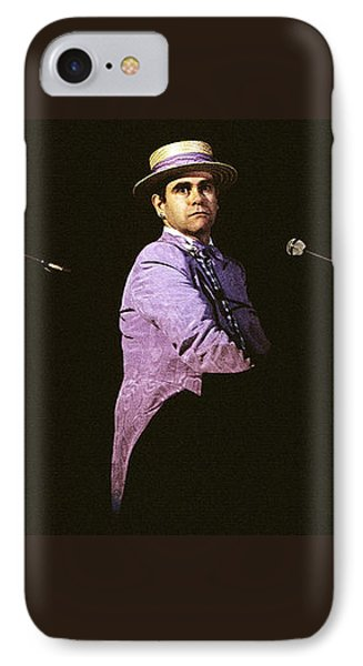 Sir Elton John 3 IPhone Case by Dragan Kudjerski