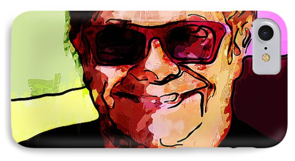 Sir Elton John IPhone Case by Vya Artist