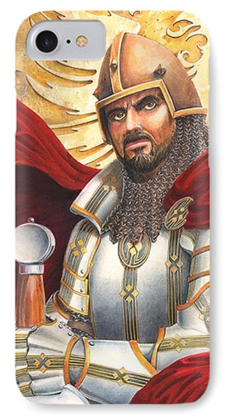 Sir Gawain Phone Case by Melissa A Benson