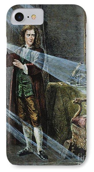 Sir Isaac Newton Phone Case by Granger