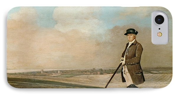 Sir John Nelthorpe IPhone Case by George Stubbs