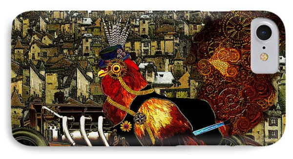 Sir Marcellus Thaddeus Cluckington IPhone Case