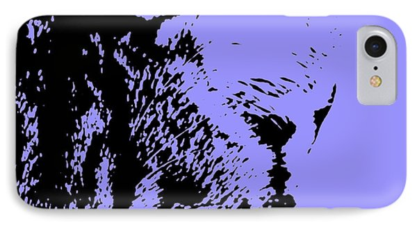 Sir Rodgerson On Purple Background IPhone Case by Pablo Franchi